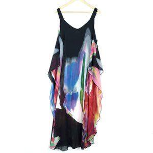 Talk of the Walk Art To Wear Colorful Maxi Dress